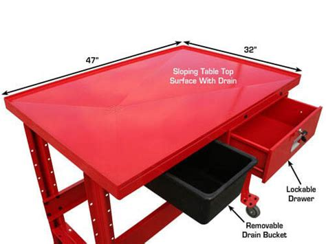 transmission repair drain table transmission teardown workbench gses