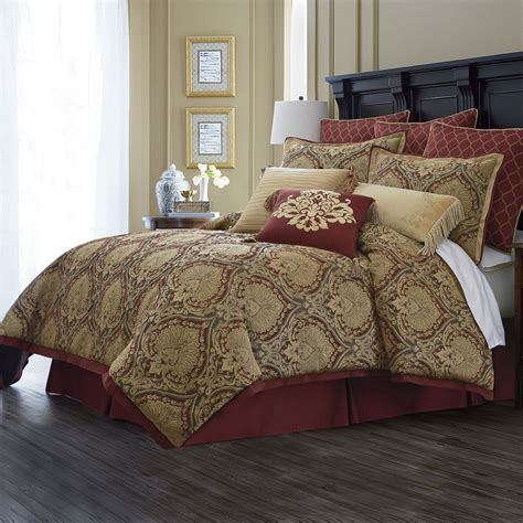 Royal Velvet Reversible Comforter Set by Deals Royal Velvet Jarvis 4 Pc Chenille Comforter Set