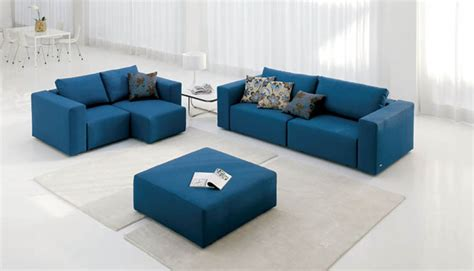 decor design furniture blue modern sofa with blue modern sofa interior design