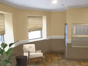 painted living rooms two toned brown paint ideas