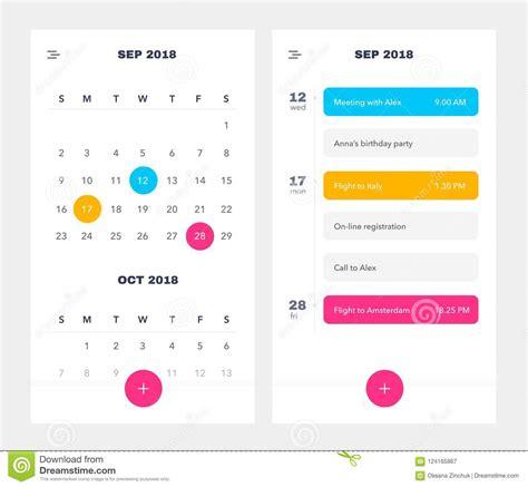 task calendar excel colorful weekly schedule and task planner