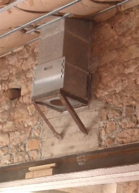 boisseau cheminee habiller conduit chemin 233 e en plaque de platre