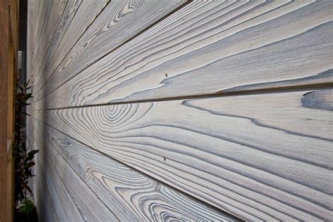 Sawn Shiplap Longport Residence Shou Sugi Ban White Oak Resawn