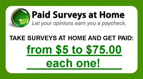 Surveys At Home For Money - how to make easy money online from home scams and reviews paid surveys at home com