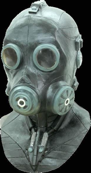 smoke mask deluxe halloween mask