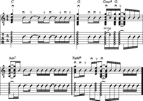 put your lights on chords workshop rhythm guitar teil