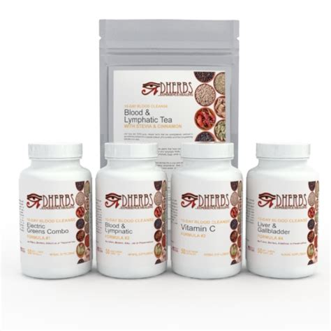 Blood Detox Pills by 10 Day Blood Cleanse