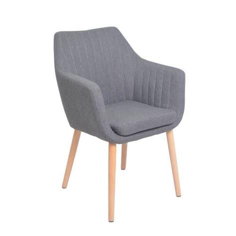 chaise accoudoir tissu kina chaise de salle 224 manger en m 233 tal et bois massif