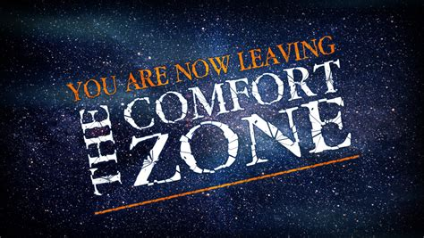 another phrase for comfort zone stepping out of your comfort zone joyful cacophony