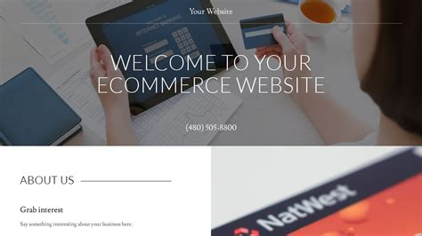 godaddy ecommerce templates exle 5 ecommerce website template godaddy