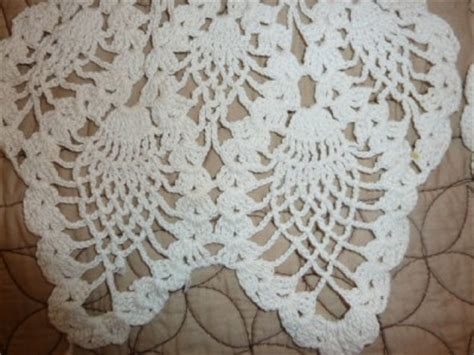 Crochet Armchair Covers by Antique Vintage Crochet Chair Covers Back Arm Covers Ebay