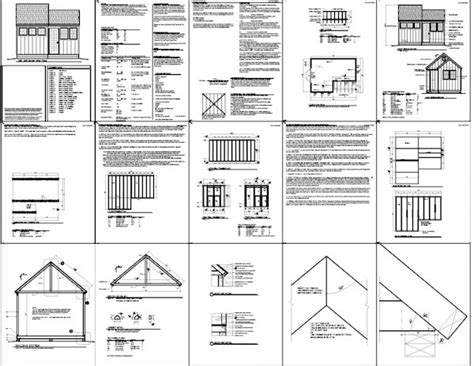 7 X 10 Shed Plans by 12 X 8 Shed Plans Free