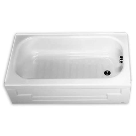 tiny 4 foot long bath tub porcelain on steel can get with