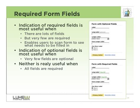 best form for best practices for form design