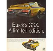 1970 Buick GSX Ad Poster