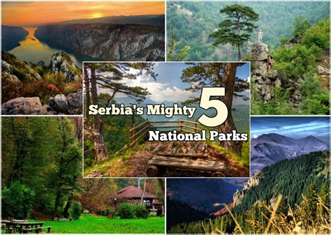 Serbia Thåy S See Serbia S Mighty 5 National Parks Serbia