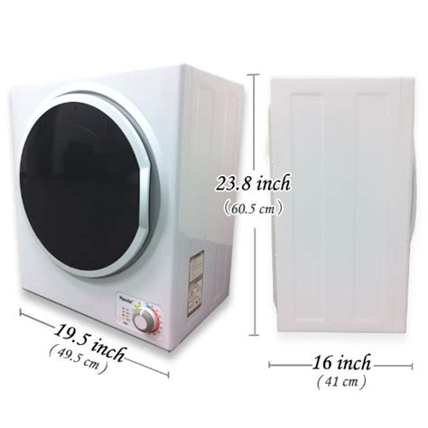 Panda Apartment Dryer Washers And Dryers Panda Small Mini Stainless Steel