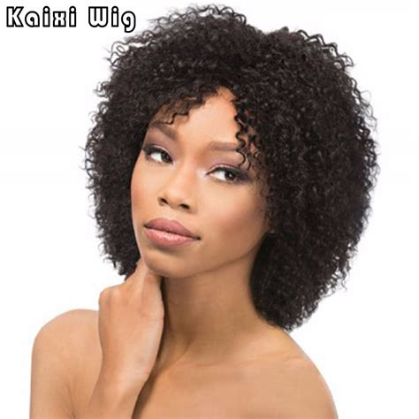 short wig styles for black women african american short short afro kinky curly wig synthetic wigs for black women