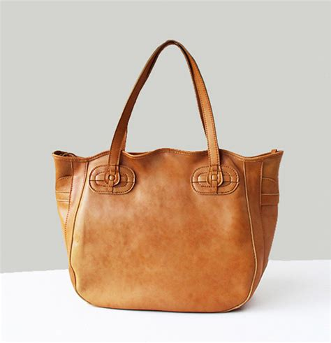 handmade s leather bag leather tote bag