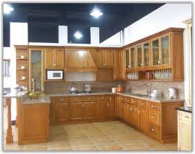 Modern wooden kitchen cabinets home design ideas