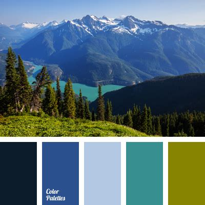 colors of the mountain mountain lake color color palette ideas