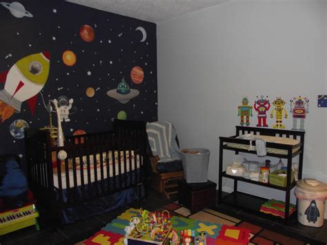 room theme space the frontier space themed nursery