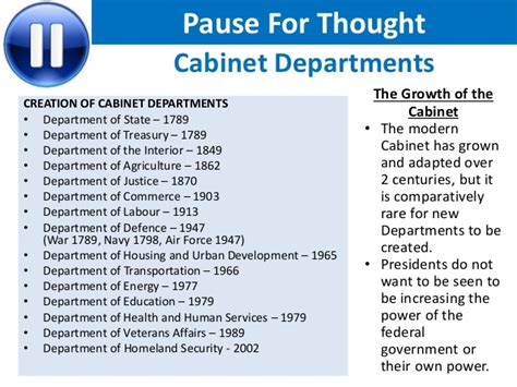 what is the cabinet how important is the cabinet