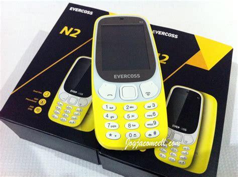 Evercoss N2 2 4 Dual Sim Gsm Hitam jual evercoss n2 mirip nokia 3315 reborn jogjacomcell