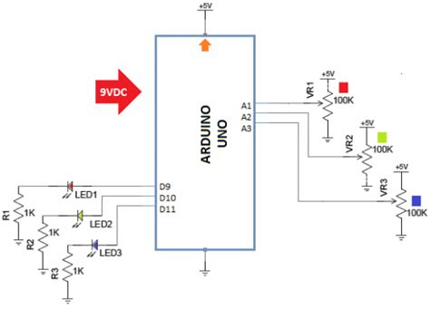led pwm resistor arduino pwm led
