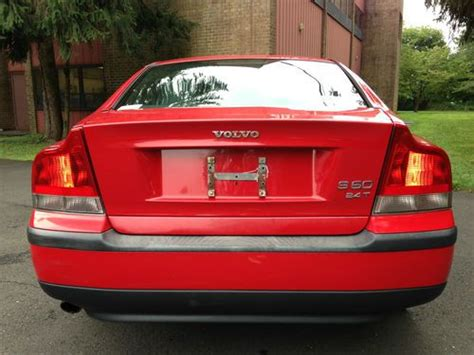 buy   volvo  turbo hot red gorgeous clean carfax leather sunroof  philadelphia