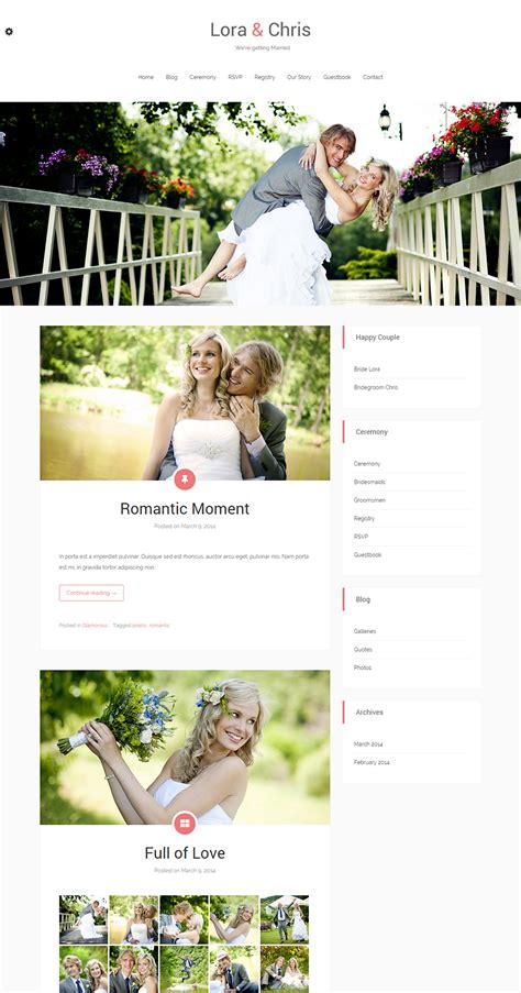 wedding website templates themes free premium free premium templates