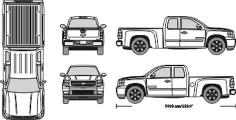 Vehicle Templates Vehicle Wraps Vehicle Outline Collection Best Vehicle Wrap Templates