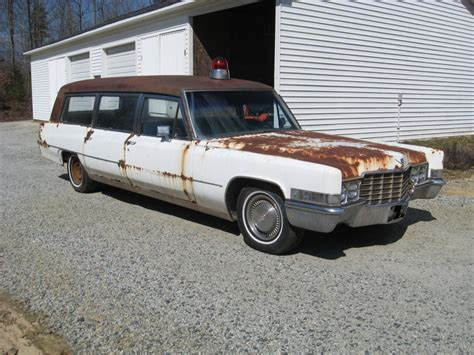 cadillac ambulance 1969 cadillac ambulance hearse combination for sale