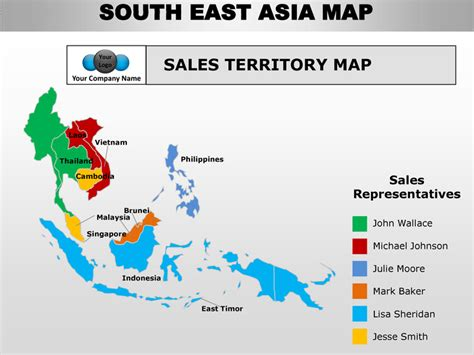 southeast asia map with country names south east asia editable continent map with countries