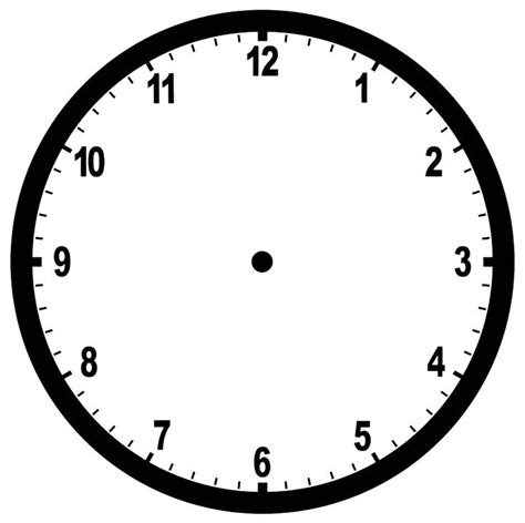 clock templates for telling time 128 best clocks printable images on clock