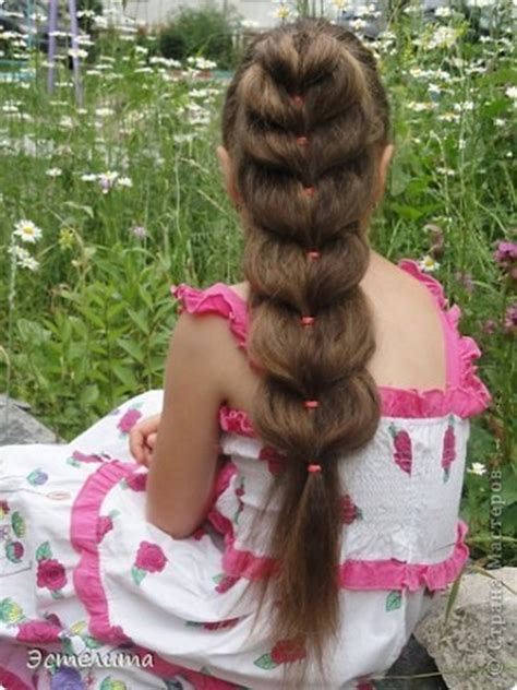 wonderful diy pretty heart ponytail hairstyle