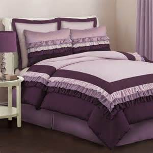 purple comforter sets twin lush decor starlet juvy comforter set in purple kids