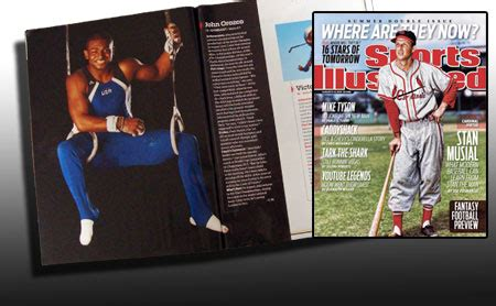 usa gymnastics   orozco is featured in aug. 2 issue of