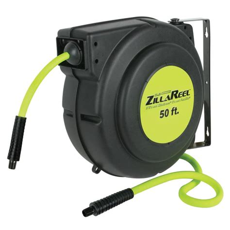 husky 3 8 in x 50 ft hybrid retractable hose reel 540hr