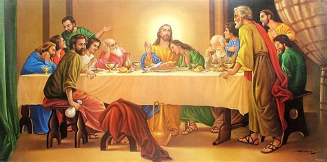 The Last Dinner jesus the last supper