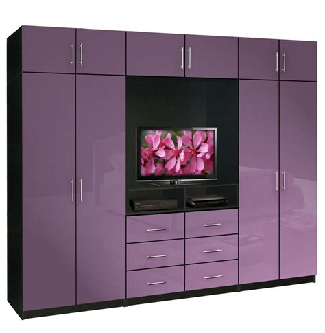 Wardrobe With Tv Unit by Aventa Tv Wardrobe Wall Unit X Bedroom Tv Furniture