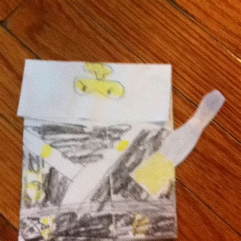 Origami For 8 Year Olds - pwr zane ninjago origami why buy s when you can