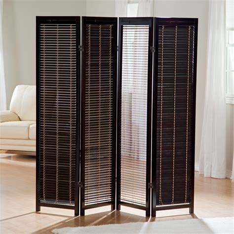 shutter room divider tranquility wooden 4 panel shutter screen room divider in