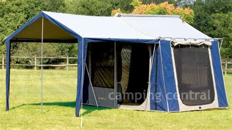 Oz Trail Awning by Oztrail Canvas Cabin Tent 10 X 8 Available At A Great