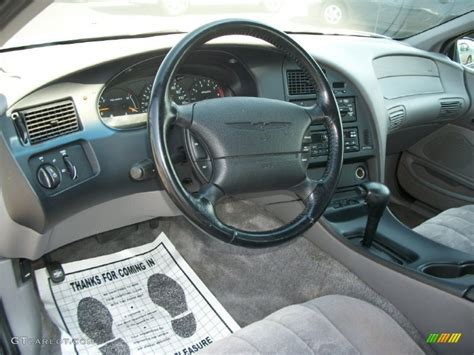 automotive service manuals 1994 ford thunderbird instrument cluster 1997 ford thunderbird lx coupe grey dashboard photo
