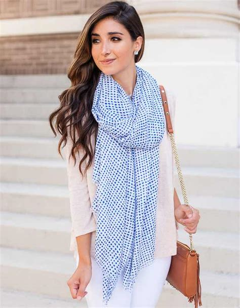 how to wear summer scarves in 10 easy ways