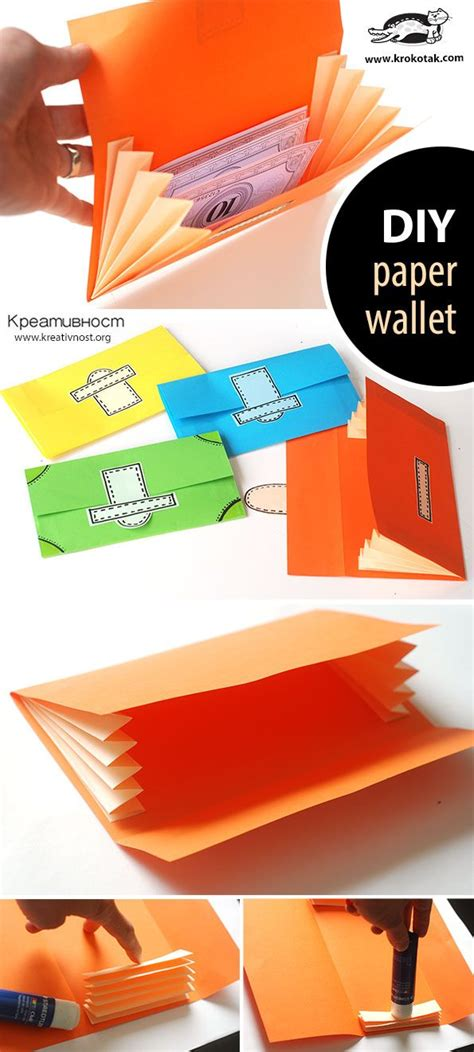 How To Fold Paper Wallet - 25 best ideas about origami wallet on simple