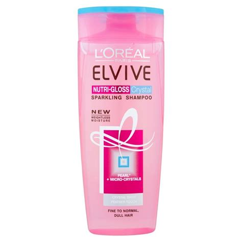 Loreal Elvive l oreal elvive nutrigloss shoo 400ml from ocado