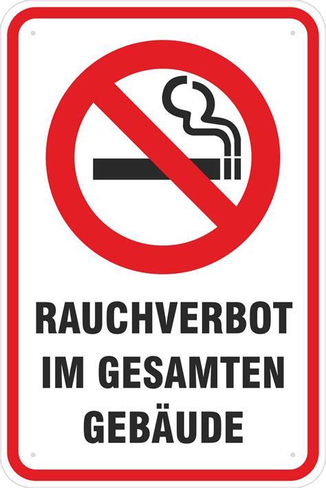 Aufkleber Rauchen Verboten Kostenlos by Schild Rauchverbot Rauchen Verboten Im Geb 228 Ude 3mm