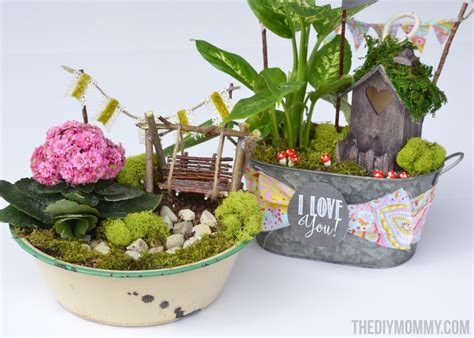 Gardening Present Ideas Mini Garden In A Tin Gift Handmade S Day Gift Ideas The Diy